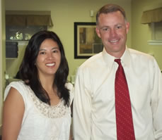 Bethesda MD dentist, Dr. Timothy J. Dunn and Dr. April J. Castro with Family and Cosmetic Dentistry