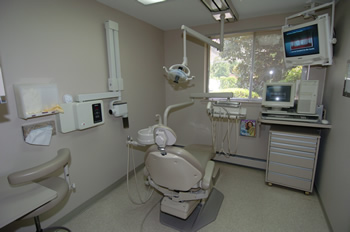 Bethesda MD dentist office treatment room